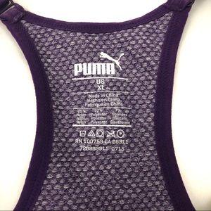 Puma Intimates & Sleepwear - Puma Seamless Racerback Purple Sports Bra Gym Yoga
